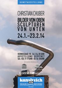 Christian Chuber Ausstellung Januar - Februar 2014