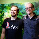 artig'17: Rainer von Vielen + Mitsch Oko als Acoustic Duo am 12. Mai 2017 auf der artig'17, dem Kunst- und Kulturfestival in der Galerie Kunstreich des artig e. V. in Kempten. Fotos: Katja Egli