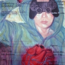 Benutzerdefiniert, Acryl auf Leinwand, 80 x 50 cm