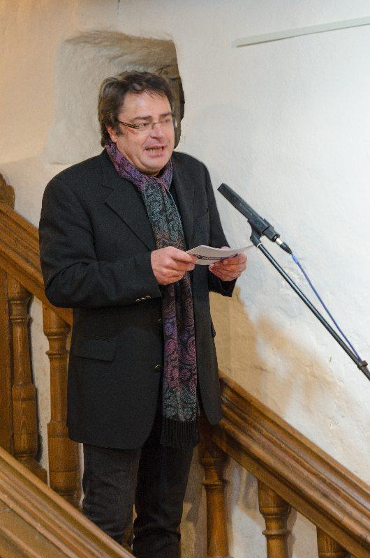 Christoph Scheule - unser Laudator der ersten Stunde