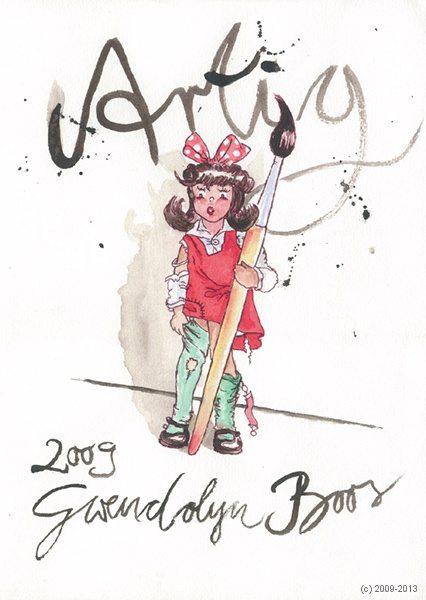 Artig, Gwendolyn Boos, artig'09