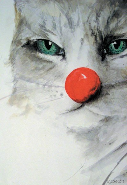 Katze, Helmuth Kittel, artig'10