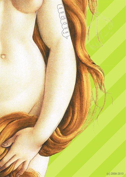 Venus, Motiv artig'10