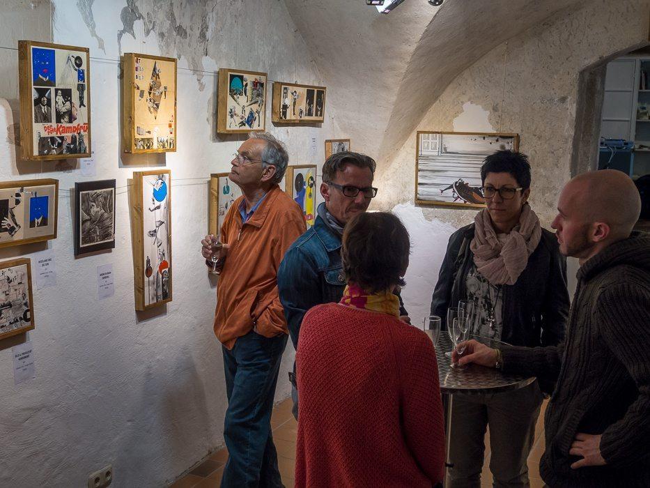Fotos der Vernissage: DER MENSCH. DEIN LEBEN. MEINE AUGEN. von Andreas Schönberg