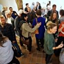Vernissage der Ausstellung Elfenbeinturm von Amrei Müller am 05. Oktober 2018 im Kunstreich. Foto © 2018: Florian Wendel