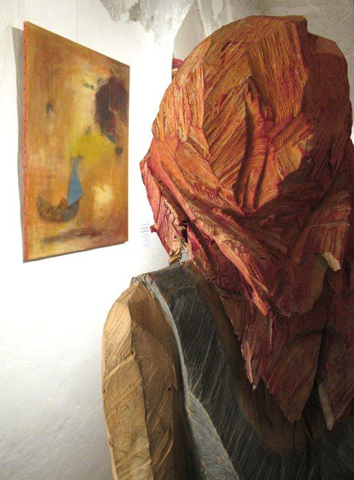 Vernissage Holz + Erde Rodriguez-Vetter, Hiemer 3