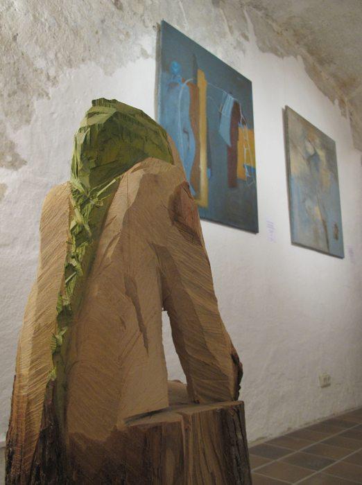 Vernissage Holz + Erde Rodriguez-Vetter, Hiemer 18