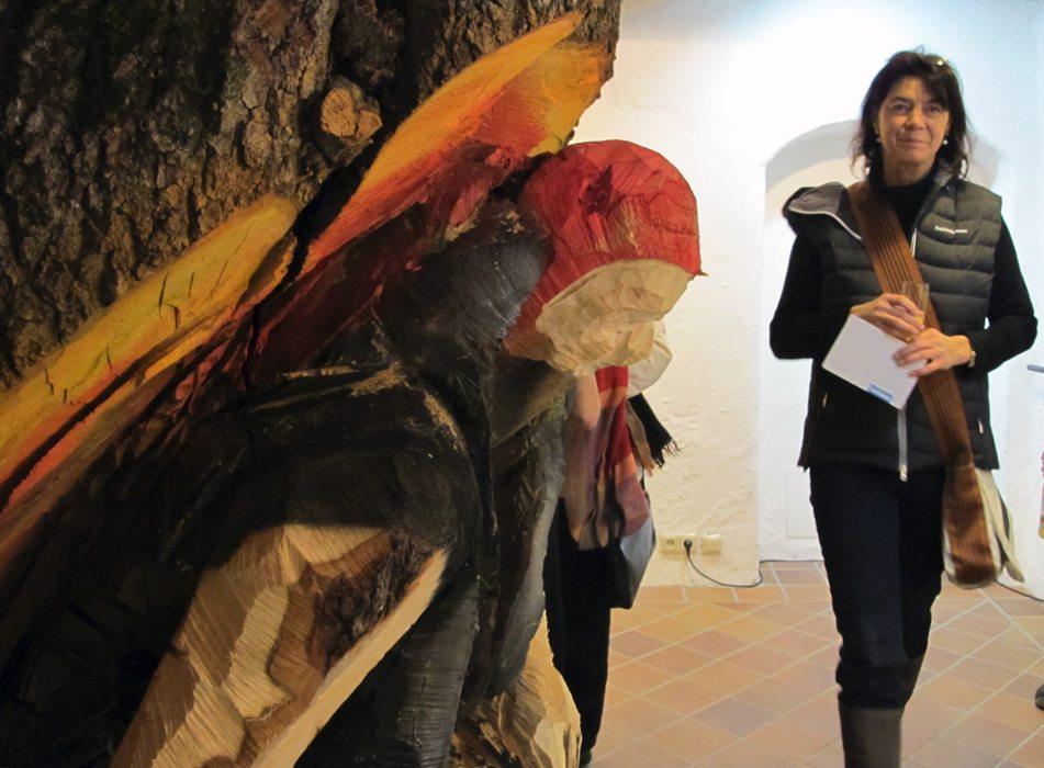 Vernissage Holz + Erde Rodriguez-Vetter, Hiemer 21