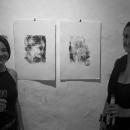 Vernissage der Ausstellung MEHR ALS WIR von Eileen O'Rourke und Radu Cristian Sabatta