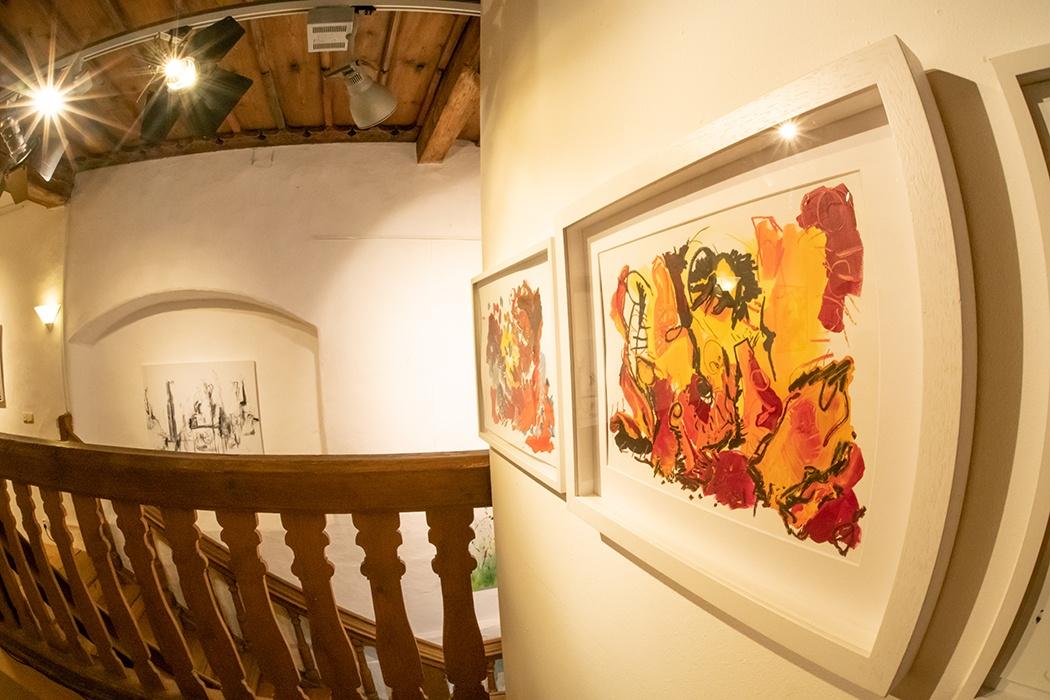 Vernissage der Ausstellung MEIN HÖREN SEHEN von Christine Müller am 22. Februar 2019 in der Galerie Kunstreich in Kempten - Fotos © 2019: Sandra Geiger
