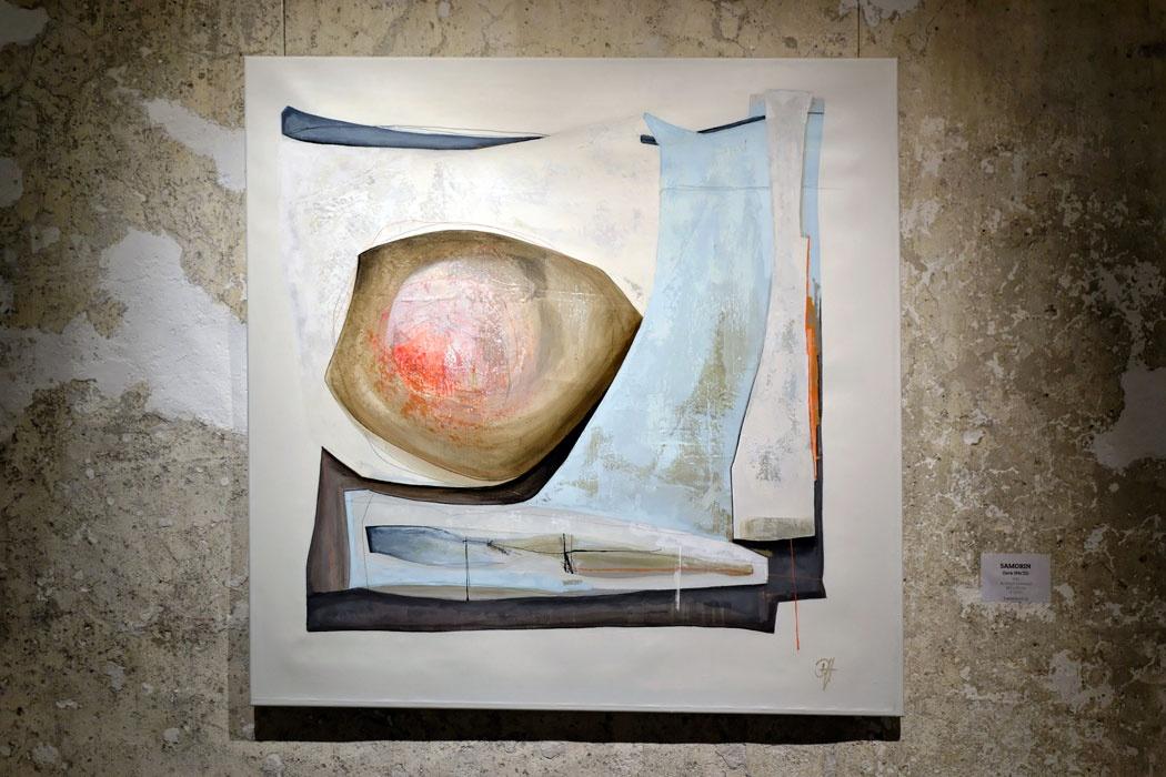 Vernissage der AusstellungROOTLESS von Deniz Hasenöhrl am 05. April 2019 in der Galerie Kunstreich in Kempten - Foto © 2019: Levi Bösker