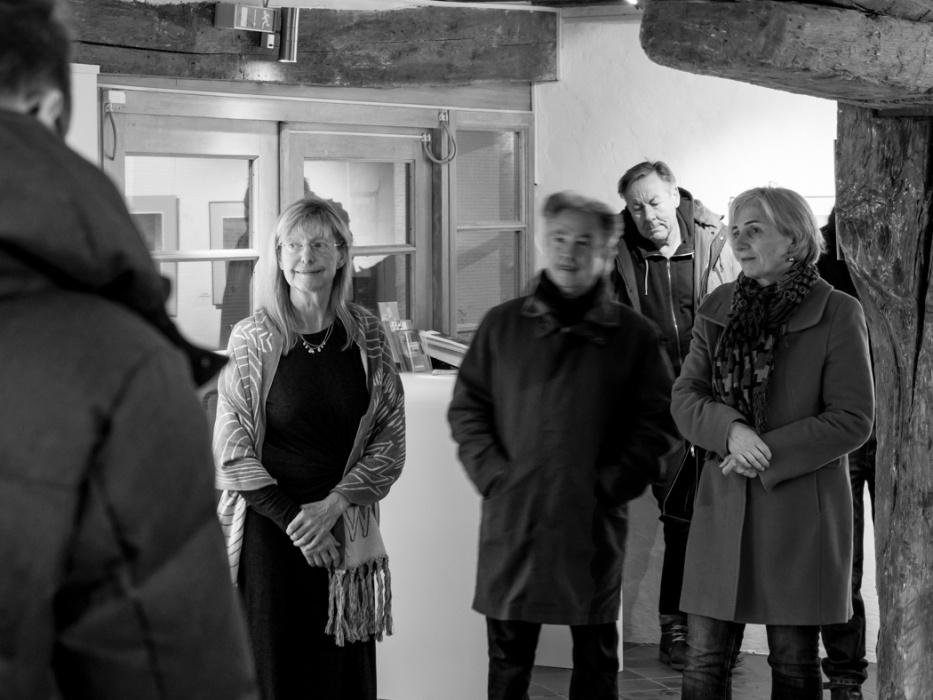 Vernissage der Ausstellung UNBEFANGEN von Nora Matocza am 11. Januar 2019 in der Galerie Kunstreich in Kempten - Fotos © 2019: Thomas Guggemos