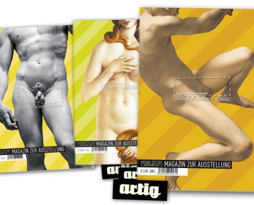 Magazin zur Ausstellung artig'11