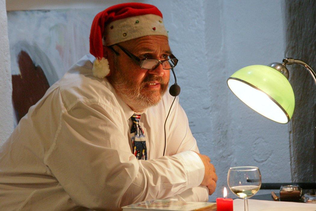 """Klaus """"Bschese"""" Kiechle bei weihnachtsartig.Foto: © 2012 Eddi Nothelfer"""