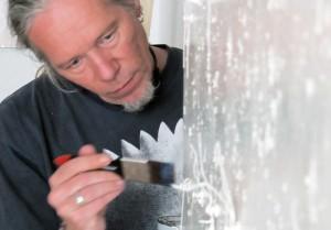 """Stephan A. Schmidt bei der Arbeit an """"Killing Time"""""""