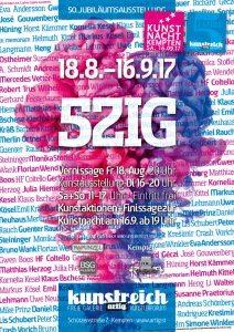 Plakat 5ZIG Ausstellung