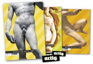 Magazin zur Ausstellung artig'09