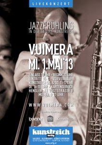 Vuimera Jazzfruehling im kunstreich 1.5.13