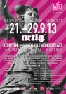 artig'13 - Plakat zum Kunst- und Kulturfestival