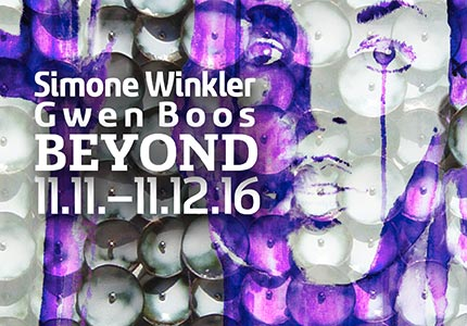 SIMONE WINKLER & GWEN BOOS · Beyond · 11.11. - 11.12.16