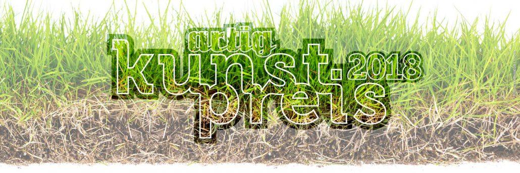 artig Kunstpreis 2018 - Logo mit Gras