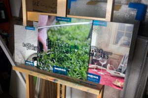 Die Kataloge zum artig Kunstpreis 2014 - 2018