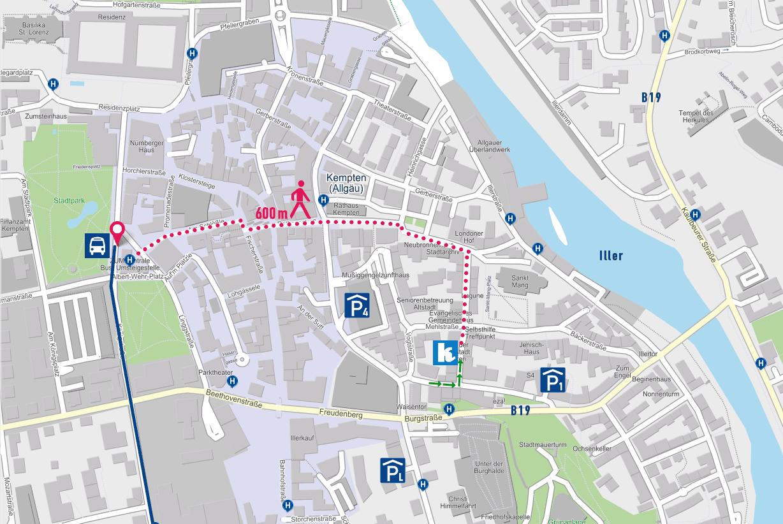Lindau Parkplatz