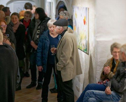 Vernissage Christine Müller: Ausstellung mein Hören sehen