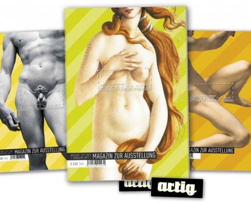 Magazin zur Ausstellung artig'10