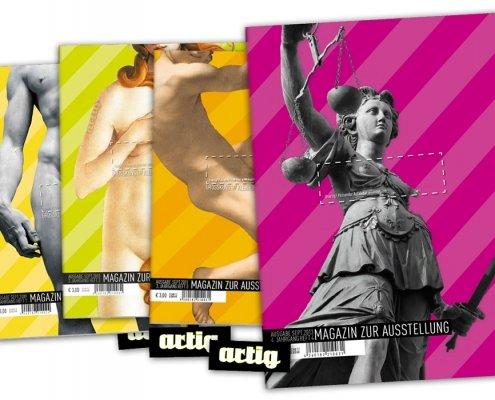 Titelseiten der Magazine 2009 bis 2013