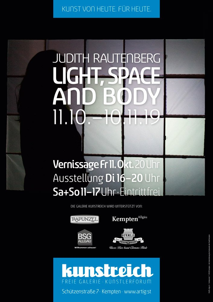 Judith Rautenberg - Light, Space and Body