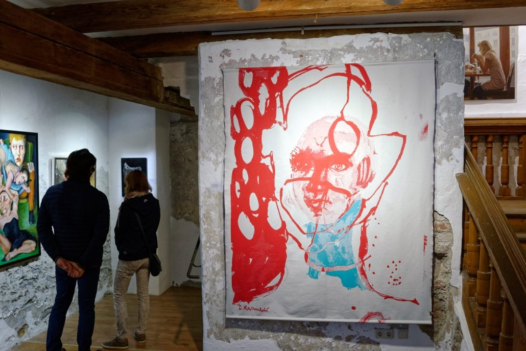 Impressionen aus der Ausstellung zum artig Kunstpreis 2020